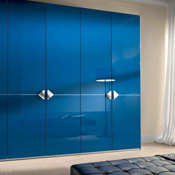 made to measure stylish contemporary hinged door wardrobe