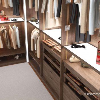 walk in wardrobe by iwardrobes.co.uk