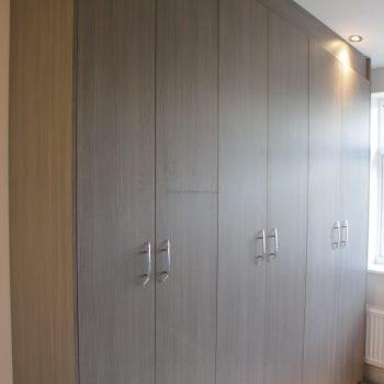 Custom made hinged door wardrobe inLondon