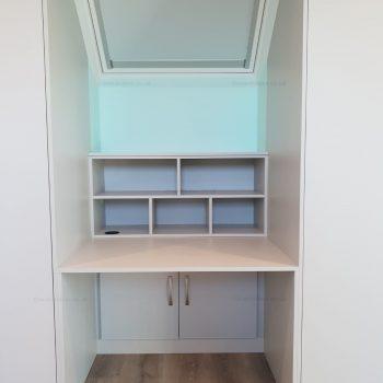 Custom loft closet in London
