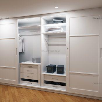 Fitted sliding door wardrobes London